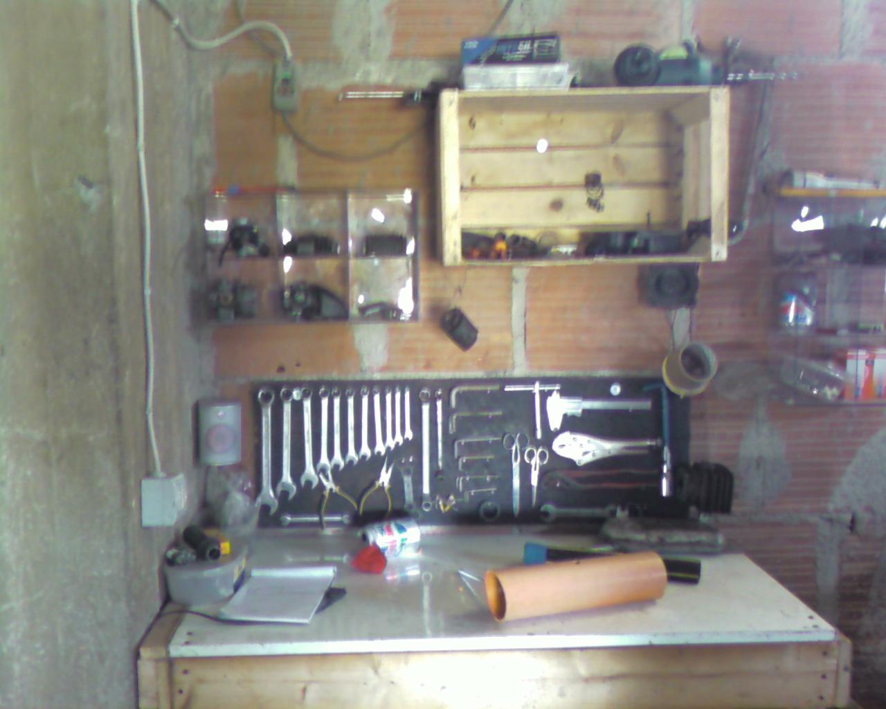 Ciao cross club raccolta foto i vostri garage officina for Officina garage indipendente
