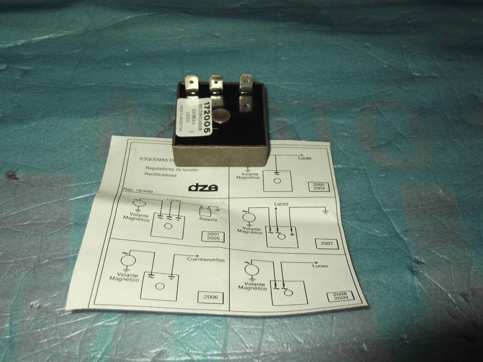 Schema Elettrico Regolatore Di Tensione Ducati : Regolatore di tensione tuboni