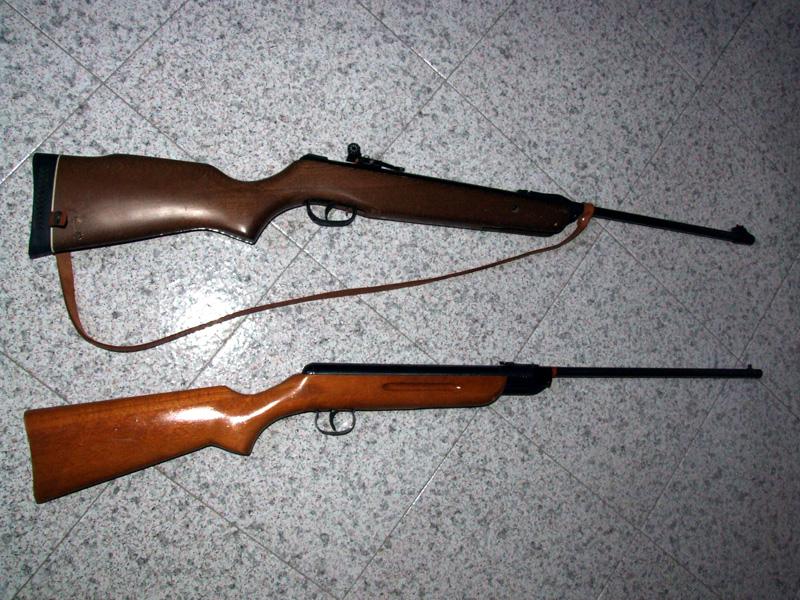 fucile a piumini per topo